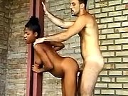 Pregnant ebony gets lavish cumshot