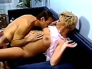 Preggy blonde licked by spoiled man